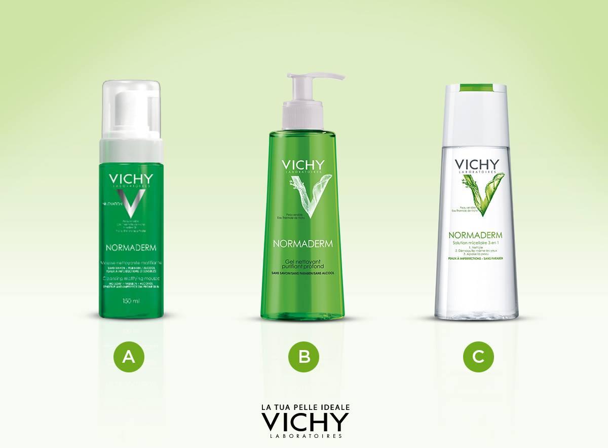 20% di sconto sui detergenti Vichy! Mousse, gel, soluzione micellare: quale texture preferite per detergere il vostro viso?