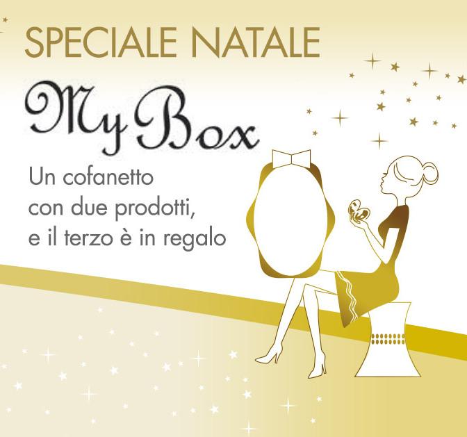 A Natale regala un cofanetto Avène, con due prodotti, il terzo è in regalo.