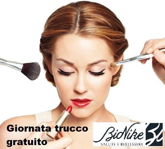 Martedì 23 dicembre appuntamento gratuito con il make up artist di Bionike Diego
