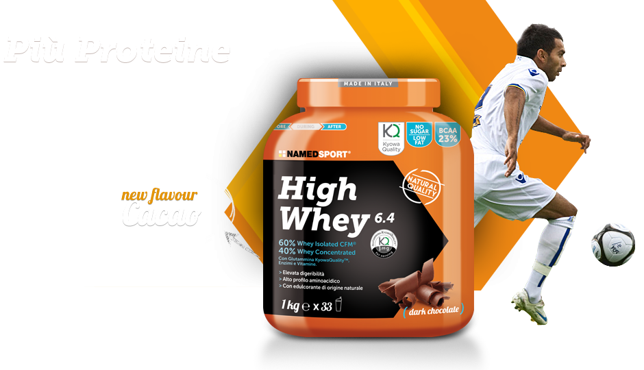 Named Sport presenta: High Whey 6.4