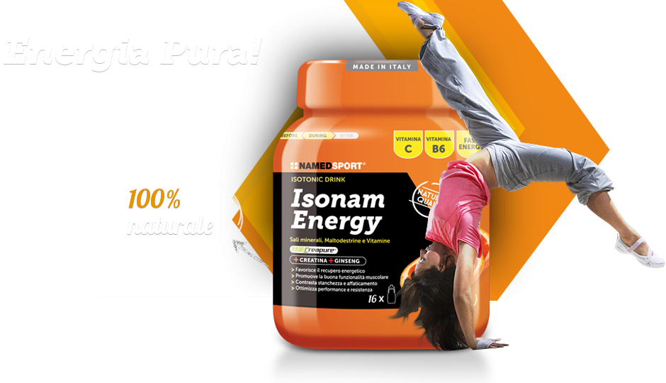 Named Sport presenta: Isonam Energy