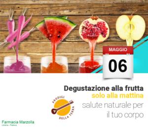 degustazione alla frutta